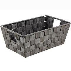 Simplify Small Woven Strap Shelf Tote