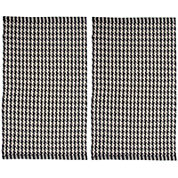 Chesapeake Merchandising Portland Houndstooth Rectangular Rug Set