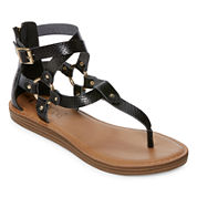 Groove Sarafina Womens Gladiator Sandals