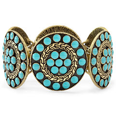 Arizona Blue Disc Stretch Bracelet