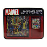 Marvel® Character Slimfold Wallet and Magnetic Money Clip