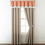 Home Expressions™ Grace 2-Pack Rod-Pocket Curtain Panels