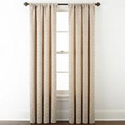 Royal Velvet® Giovanna Rod-Pocket/Back-Tab Curtain Panel