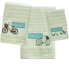 Bacova Beach Cruiser Jacquard Bath Towel