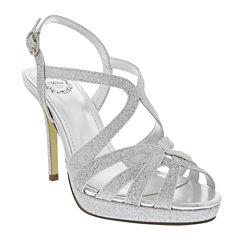 I. Miller Fatemah Cross-Strap High Heel Platform Sandals