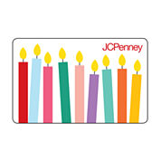 $50 Happy Birthday Candles Gift Card