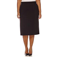 Worthington® High-Waist Pencil Skirt - Plus