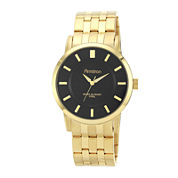 Armitron® All Sport Mens Gold-Tone Sunray Watch