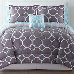 Home Expressions™ Tiles Complete Bedding Set with Sheets & Accessories