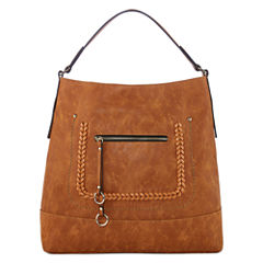 Louis Cardy Front Pocket Hobo Bag