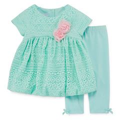 Marmellata Legging Set-Baby Girls