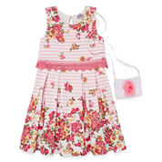 Knit Works Sleeveless Skater Dress - Preschool