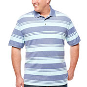The Foundry Big & Tall Supply Co. Short Sleeve Solid Polo Shirt Big and Tall