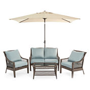 Outdoor Oasis™ Latigo 4pc Conversation Set