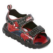 Marvel® Spiderman Light-Up Sandals - Toddler Boys