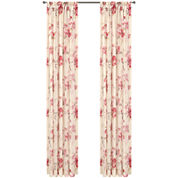 Imperial Garden Rod-Pocket Sheer Window Treatments