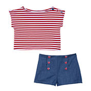 Marmellata Girls 2-pc. Short Set