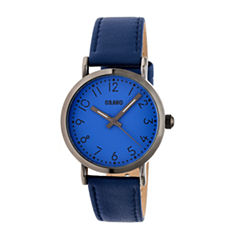 Crayo Pride Unisex Blue Strap Watch-Cracr3805