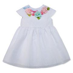 Marmellata Sleeveless Empire Waist Dress - Baby Girls
