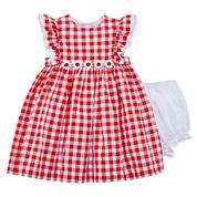 Marmellata Short Sleeve Cap Sleeve Sundress - Baby Girls