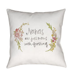 Decor 140 Nana Floral Square Throw Pillow