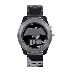 DC Comics® Batman vs. Superman LCD Flash Dial with Printed Gray Batman Watch