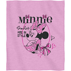 Disney Minnie Mouse Sweatshirt Throw