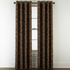 Brown Curtains Amp Drapes For Window Jcpenney