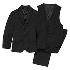 Collection by Michael Strahan Black Suit - Boys 8-20