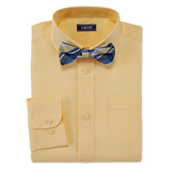 IZOD Shirt + Tie Set - Big Kid Boys