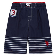 U.S. Polo Assn. Boys Trunks-Big Kid