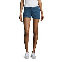 Arizona Garment Dye Shorts-Juniors