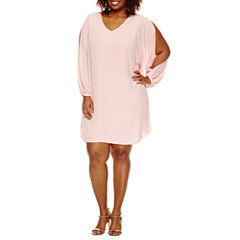 Plus Size Pink Dresses for Women - JCPenney