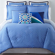 Happy Chic by Jonathan Adler Zoe 3-pc. Reversible Comforter Set & Accessories