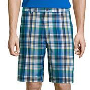 Jack Nicklaus® Golf Performance Madras Plaid Shorts