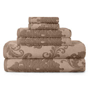 Royal Velvet® 6-pc. Signature Soft Damask Bath Towel Set