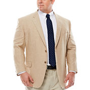 Stafford® Linen Cotton Jacket - Big & Tall