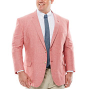 Stafford® Linen Cotton Jacket - Big & Tall