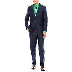 JF J. Ferrar® Shimmer Shark Suit Jacket or Flat-Front Pants - Slim Fit