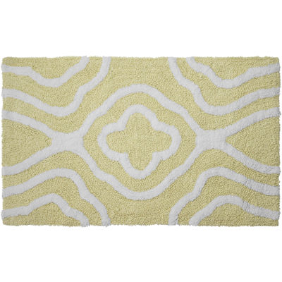 Jean Pierre Giri Reversible Cotton Plush Bath Mat