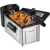 Hamilton Beach® 8-Cup Stainless Steel Deep Fryer