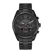 Caravelle New York® Mens Black Dial Chronograph Watch 45B122