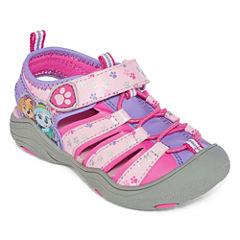Nickelodeon Paw Patrol Girls Strap Sandals - Toddler