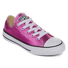 Converse® Chuck Taylor All Star Metallic Girls Sneakers - Little Kids