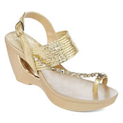 Andrew Geller Arriana Womens Wedge
