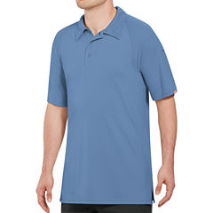 Red Kap Wrinkle Resistant Short Sleeve Solid Knit Polo Shirt
