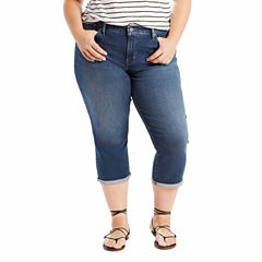 CLEARANCE Plus Size Capris & Crops for Women - JCPenney