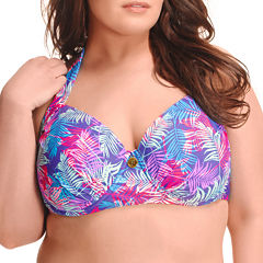Paramour Halter Swimsuit Top-Plus