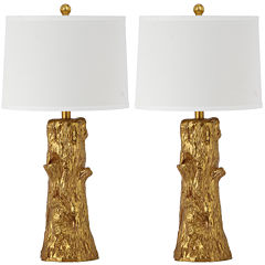 Safavieh Arcadia Faux Bois Table Lamp