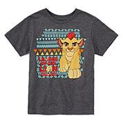Disney Collection Lion Guard Short-Sleeve Cotton Graphic Tee - Boys 2-10